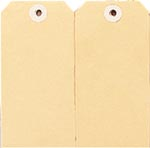 ESSELTE SHIPPING TAGS NO.4 54 X 108MM BUFF BOX 1000
