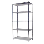 ACERACK WIRE SHELVING 1800 X 900 X 450MM CHROME